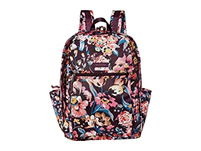 Vera Bradley Lighten Up Grand Backpack (Indiana Blossoms) Backpack Bags