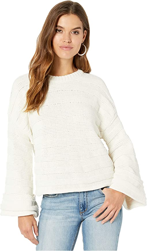 Cream Stripe Knit