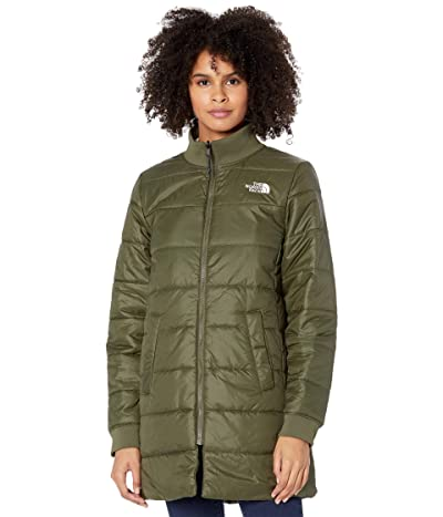 The North Face Du Nord Reversible Parka (New Taupe Green) Women