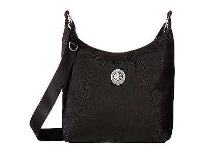 Baggallini Legacy RFID Small Zip Crossbody (Black) Cross Body Handbags
