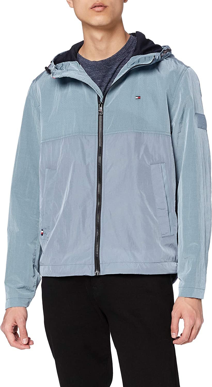Tommy Hilfiger Lightweight Hooded Jacket Chaqueta para Hombre