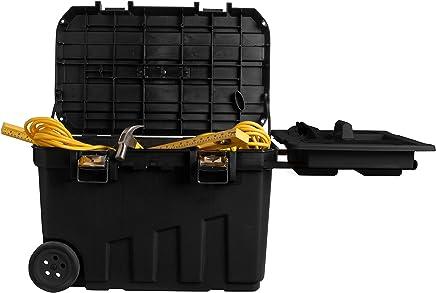 Stanley Stanley Stanley Werkzeugbox (76,8 x 49 x 47,6 cm, mobile Box für Werkzeuge, hohes Volumen von 90l, Werkzeugaufbewahrung mit Metallverschlüssen, herausnehmbare Ablage) 1-92-978 B000Y8ZGCA | Verrückter Preis  4e9e7b