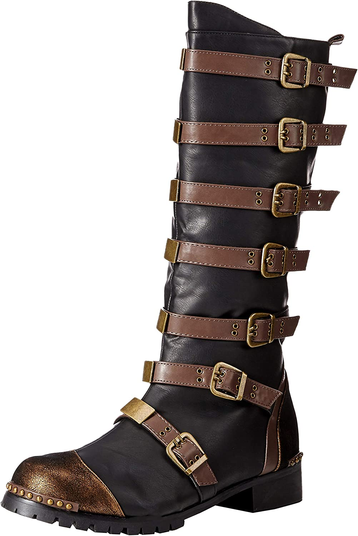 Ellie shoes Men's 158-punk Combat Boot