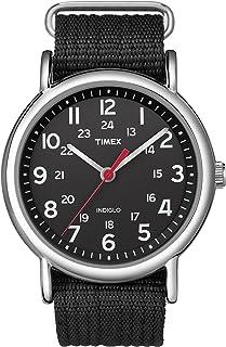 Timex Reloj análogico de cuarzo para Unisex adulto con correa de nailon