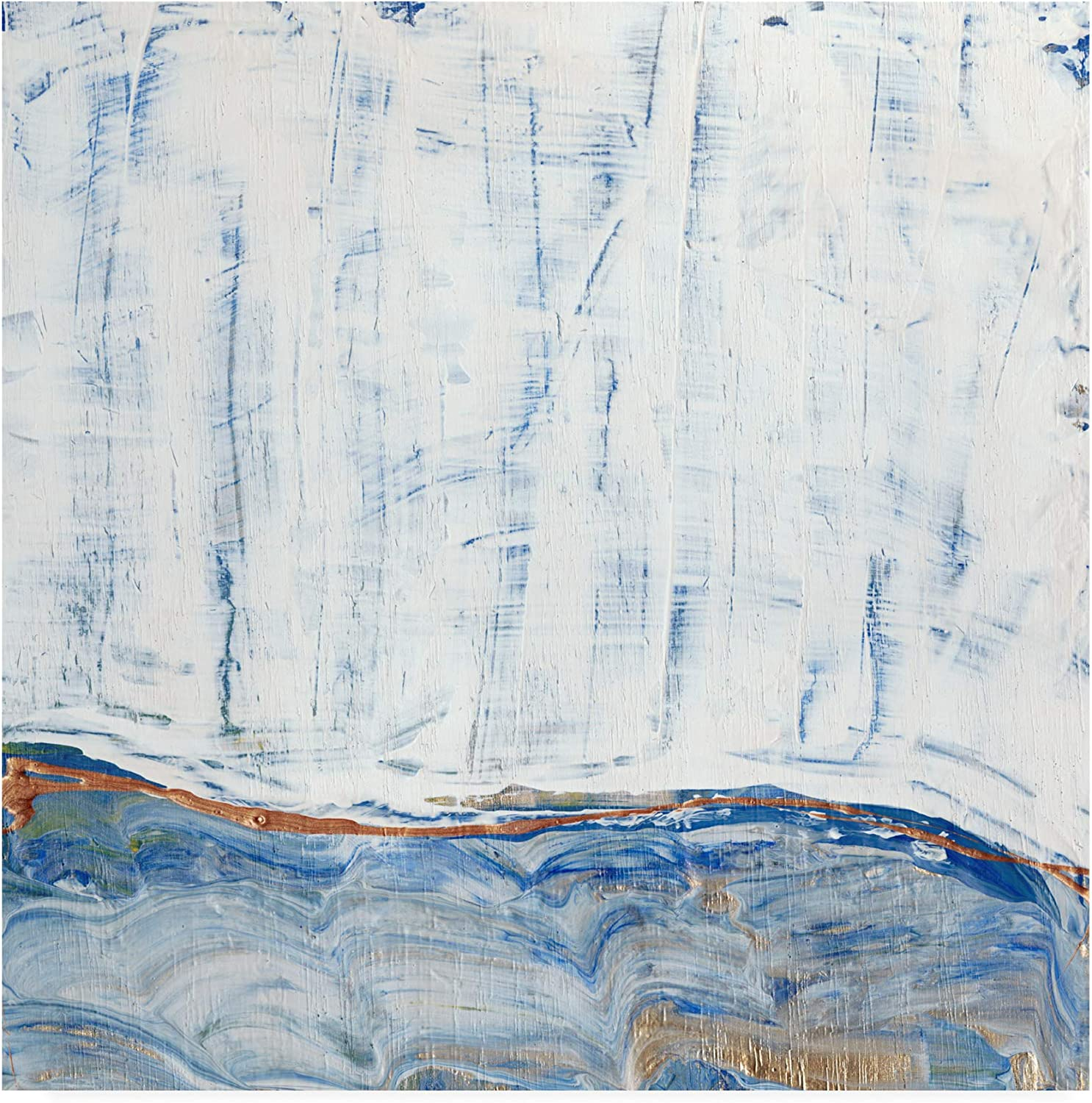 Trademark Fine Art bluee Highlands I by Alicia Ludwig, 14x14