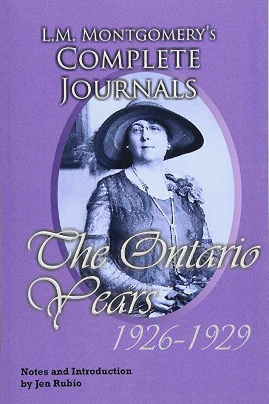 魅力ミンチとしてL.M. Montgomery's Complete Journals, The Ontario Years: 1926-1929