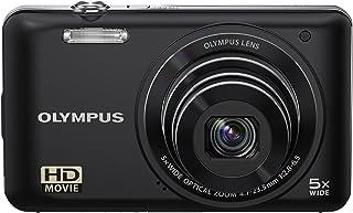 Olympus VG 130 Digitalkamera (14 Megapixel, 5 fach opt. Zoom, 7,6 cm (3 Zoll) Display, bildstabilisiert) schwarz