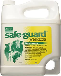 Merck Safeguard Suspension Pet Wormers, 1-Gallon