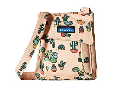 KAVU Mini Keeper (Prickle Perfect) Cross Body Handbags