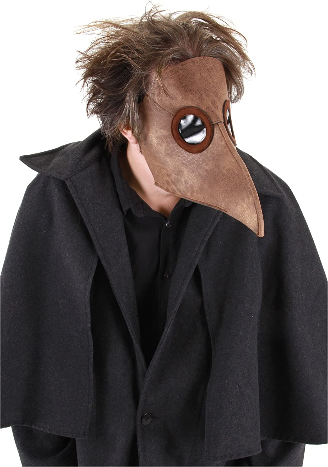 elope Bubonic Plague Doctor Excellence Bird San Diego Mall Mask Costume Brown