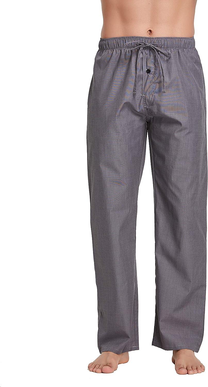 CYZ Men's 100% Cotton Poplin free shipping Sleep Lounge Pajama Pant Max 81% OFF