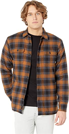 f14edcacea Dickies 67 Collection - Flannel Shirt Jacket with Sherpa Lining at ...