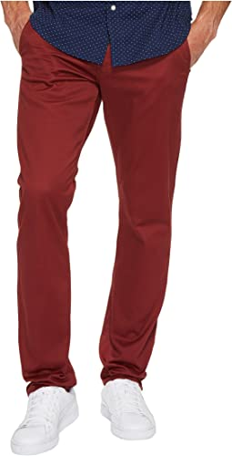 Alpha Khaki Slim Tapered Fit Pants