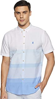 Red Tape Men's Striped Regular fit Casual Shirt