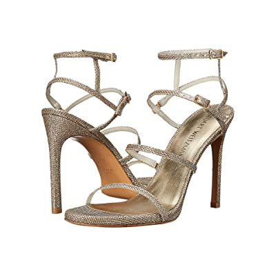 Stuart Weitzman Bridal & Evening Collection Courtesan (Platinum Noir) Women