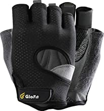 FREEDOM Workout Gloves, Knuckle Weight Lifting Shorty Fingerless Gloves with Curved Open Back, for Powerlifting, Gym, Cros...