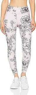 Dharma Bums Women's Tea Rose High Waist Printed Legging - 7/8