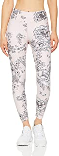 Dharma Bums Women's Tea Rose High Waist Printed Legging - 7/8