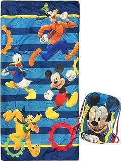 Disney Junior Mickey Mouse Clubhouse Get Going Slumber Sack - Cozy & Warm Kids Lightweight Slumber Bag/Sleeping Bag - Feat...
