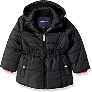 Limited Too Girls' Too Puffer W/Sweater Knit Trim