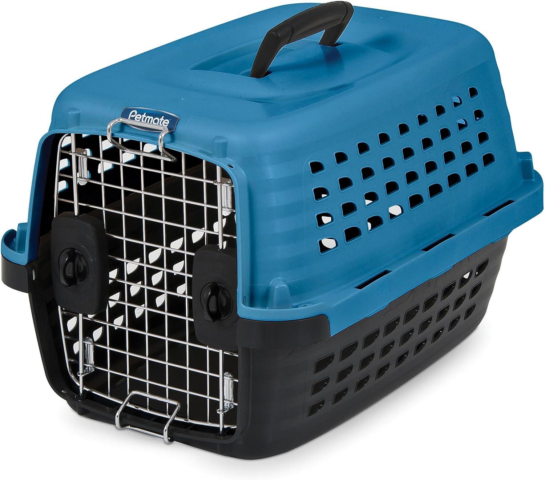 Petmate Compass Fashion Kennel, 19 L x 12.7 W x 11.5 H, bluee Black, 5ct
