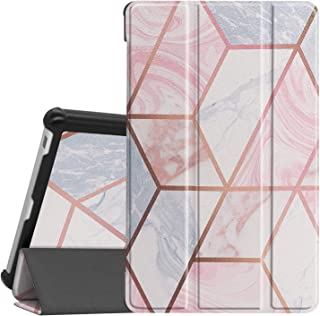 Case for Lenovo Tab M8 FHD TB-8705F / TB-8705N, Ratesell Lightweight Trifold Stand Microfiber Lining Case Cover for Lenovo...