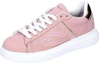 GUARDIANI Sneaker Donna Pelle Nubuck Rosa