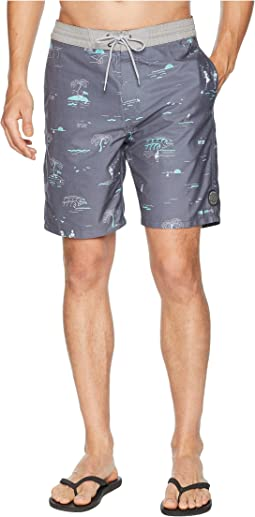 Shred Till Dead Layday Boardshorts