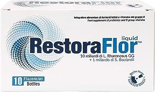 U.G.A Nutraceuticals RestoraFlor Liquid Probiotics For Children and Adults, 10 x 7 ml
