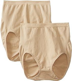 Bali Women's Shapewear Seamless Brief Ultra Control 2-Pack