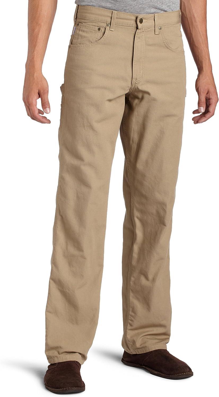 Carhartt Mens Loose Fit Five Pocket Canvas Carpenter Pant B159