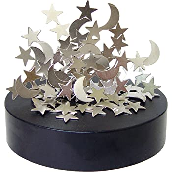 Square Base - Screws AblueA Magnetic Sculpture Desk Toy Coffee Table Piece As Office Gift Stocking Stuffer