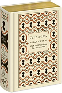Jane-a-Day: 5 Year Journal with 365 Witticisms by Jane Austen