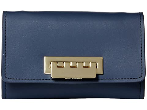 Eartha Iconic Small Phone Wallet Crossbody, Blue