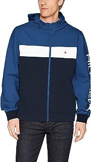 Tommy Hilfiger Men's Retro Colorblocked Hooded Track Jacket