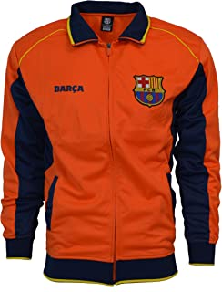 Fc Barcelona Jacket Track Soccer Adult Sizes Soccer Football Official Merchandise