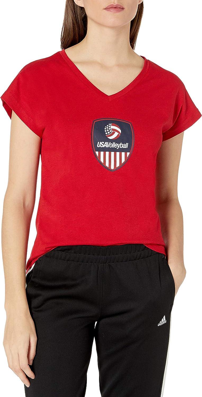 adidas Elegant Sale SALE% OFF Women's USA S Tee Volleyball