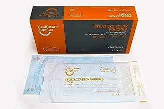 sterilization pouches sizes