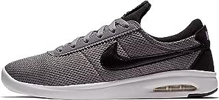 SB AIR MAX Bruin VPR TXT Mens Fashion-Sneakers AA4257-004_9.5 - Gunsmoke/Black-Black-White