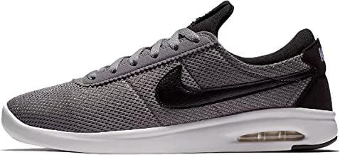 NIKE SB AIR MAX Bruin VPR TXT Mens Fashion-Sneakers AA4257-004_9 - Gunsmoke/Black-Black-White
