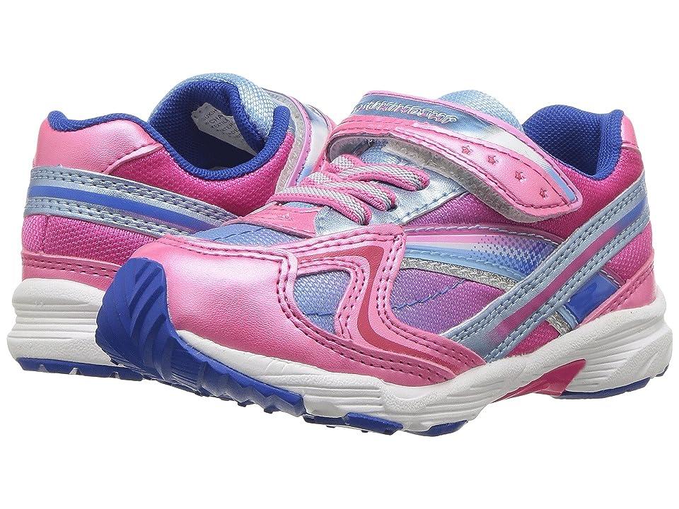 Tsukihoshi Kids Glitz (Toddler/Little Kid) (Fuchsia/Sky) Girls Shoes