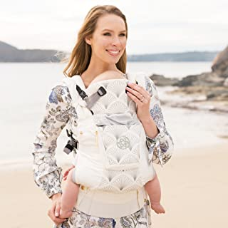 LÍLLÉbaby The Complete Embossed Luxe SIX-Position 360° Ergonomic Baby & Child Carrier, Brilliance White