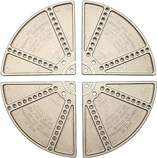 4 Tall Round Chuck Jaws for 8 CNC Lathe Chucks Set of 3 Pieces USST RKT-8400A Aluminum 6061 T6