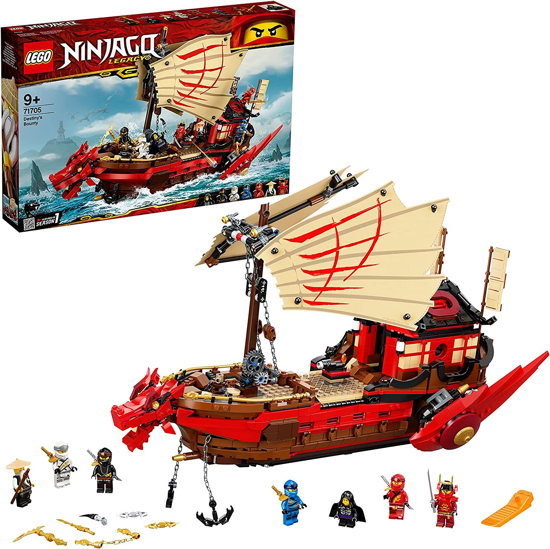 LEGO 25 NINJAGO Legacy Destiny's Bounty Children's Building Kit
