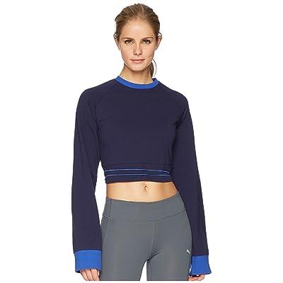 PUMA Puma x Fenty by Rihanna Laced Sweatshirt (Evening Blue) Women