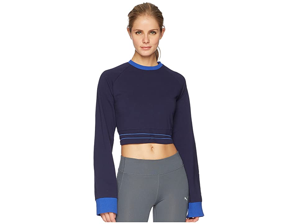 PUMA Puma x Fenty by Rihanna Laced Sweatshirt (Evening Blue) Women