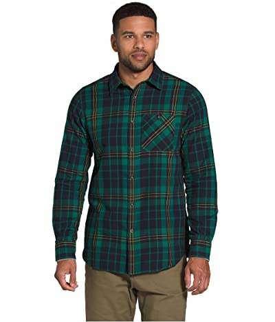The North Face Hayden Pass 2.0 Shirt (Evergreen Heritage Medium Three-Color Plaid) Men
