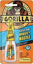Gorilla Super Lijm 2-in-1 Borstel & Nozzle Clear 12g
