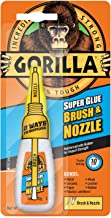 Gorilla Super Glue Brush & Nozzle, 12 g