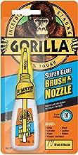 Gorilla Super Glue Brush & Nozzle, 12 g